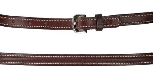 Harmohn Kraft Plain Raised Belt 3/4in - Brown
