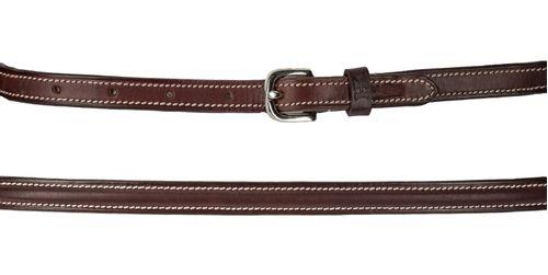 Harmohn Kraft Plain Raised Belt 5/8in - Brown