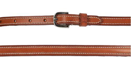 Harmohn Kraft Plain Raised Belt 5/8in - Newmarket