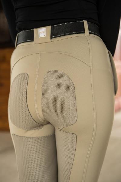FITS Women's PerforMAX Zip Full Seat Breeches - Sahara