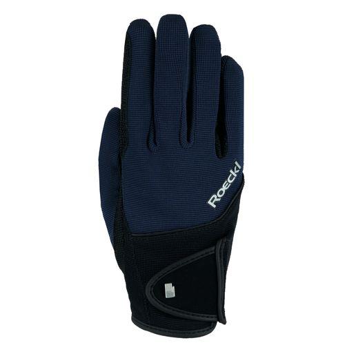 Roeckl Milano Riding Gloves - Navy