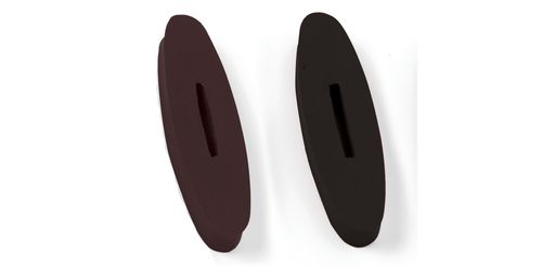 Equi-Essentials Rubber Rein Stops - Brown