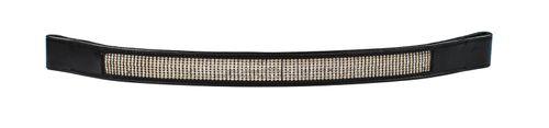 Harmohn Kraft Mini Crystal Browband 1in - Black