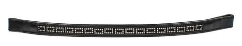 Harmohn Kraft Mini Crystal Browband 3/4in - Black