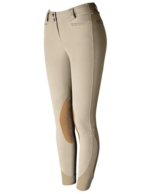 Tredstep Women's Solo Extreme Knee Patch Breeches - Tan