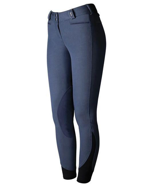 Tredstep Women's Solo Extreme Knee Patch Breeches - Indigo Blue