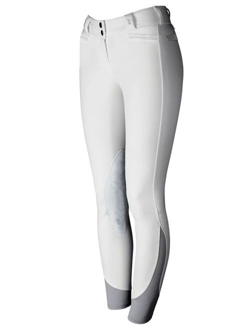 Tredstep Women's Solo Extreme Knee Patch Breeches - White