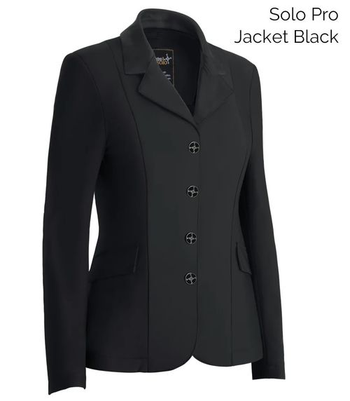 Tredstep Women's Solo Pro Competition Jacket - Black