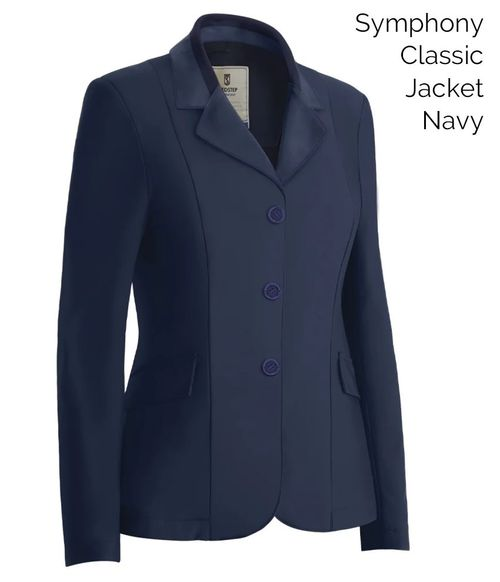 Tredstep Women's Symphony Classic Competition Jacket - Navy