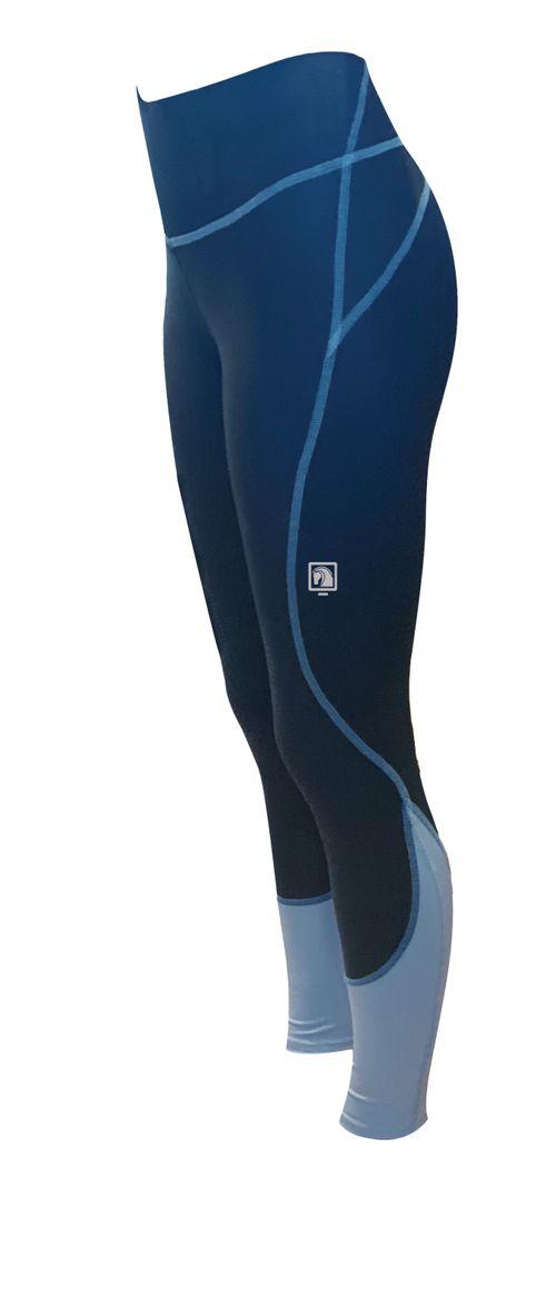 Romfh Women's Ultralite Full Grip Tights - Navy/Cerulian