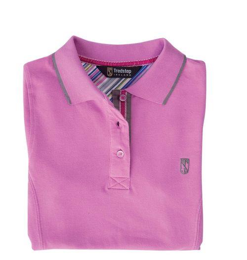Tredstep Women's Polo Shirt - Pink
