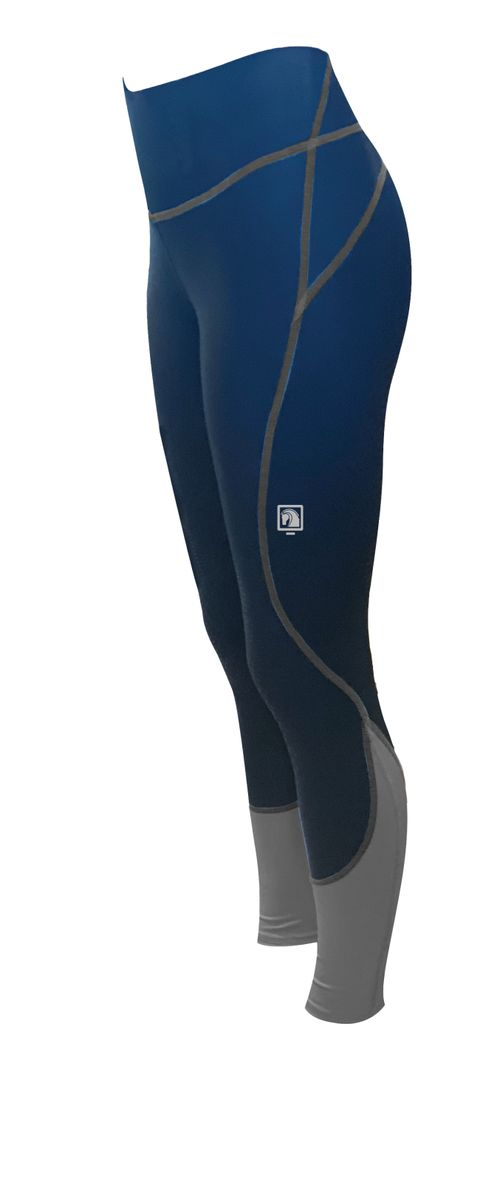 Romfh Women's Ultralite Full Grip Tights - Navy/Charcoal