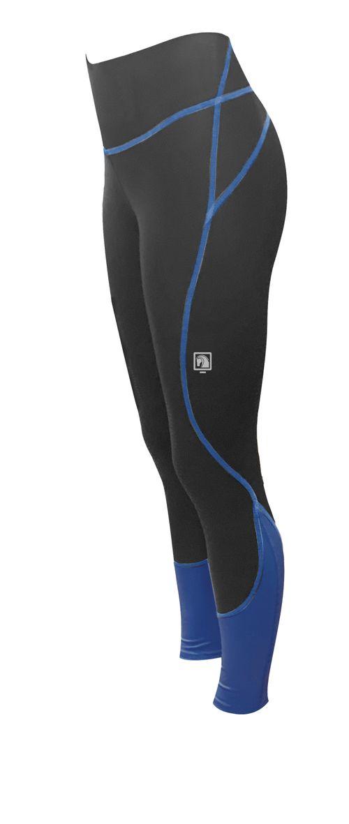 Romfh Women's Ultralite Full Grip Tights - Greystoke/Aquamarina