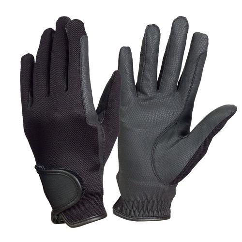 Ovation Women's Pro-Grip Summer Show Gloves - Black