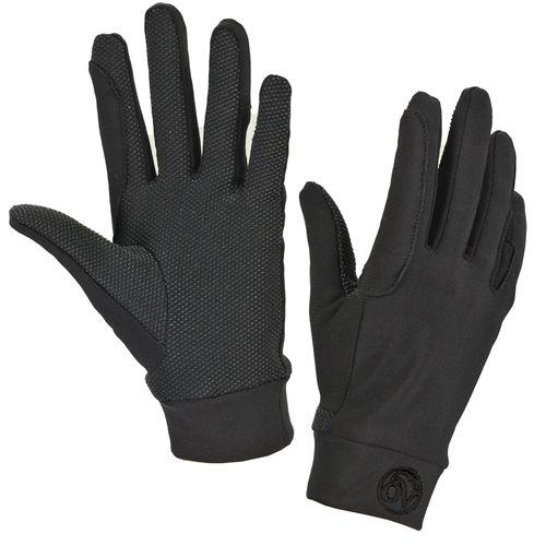 Ovation Ultra Grip Rein Gloves - Black