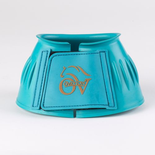 Ovation Ribbed Hook and Loop Bell Boot - Teal