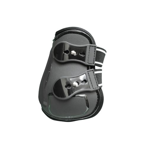 Equine Innovations Air Shock Open Front Hind Boot - Black/Black