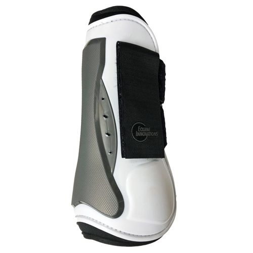 Equine Innovations Air Shock Jumping Boots - White/Pearl