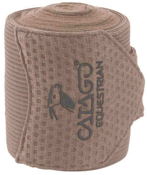 Catago FIR-TECH Bandage Set of 4 - Stone Brown