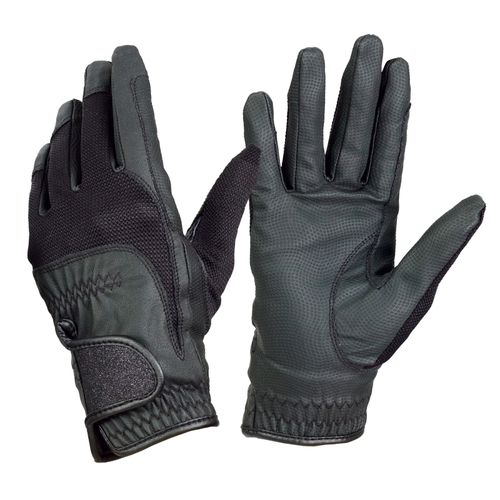 Ovation Women's Pro-Grip Glitter Show Gloves - Black
