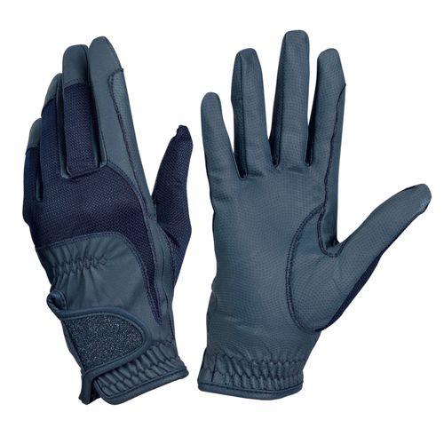Ovation Women's Pro-Grip Glitter Show Gloves - Navy