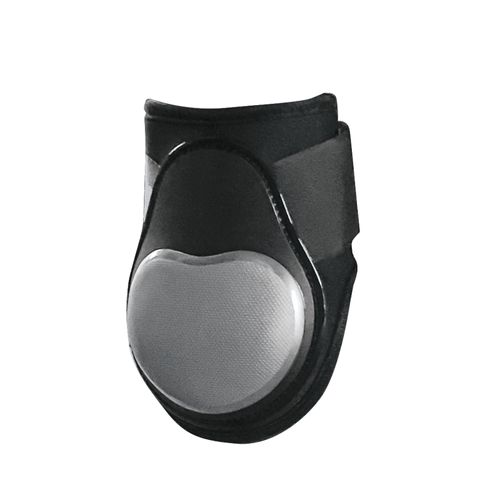Equine Innovations Air Shock Jumping Hind Boots - Black/Pearl