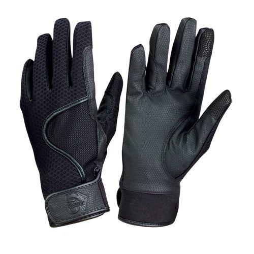 Ovation Women's LuxeGrip 3D AirMesh Gloves - Black