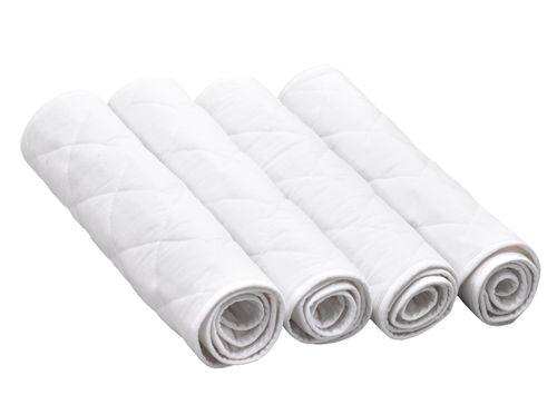 Equi-Essentials Quilted Leg Wraps - White