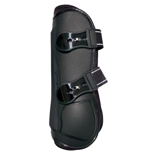Equine Innovations Air Shock Open Front Boots - Black/Black