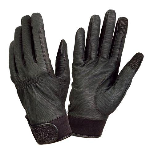 Ovation Women's LuxeGrip Glitter Gloves - Black