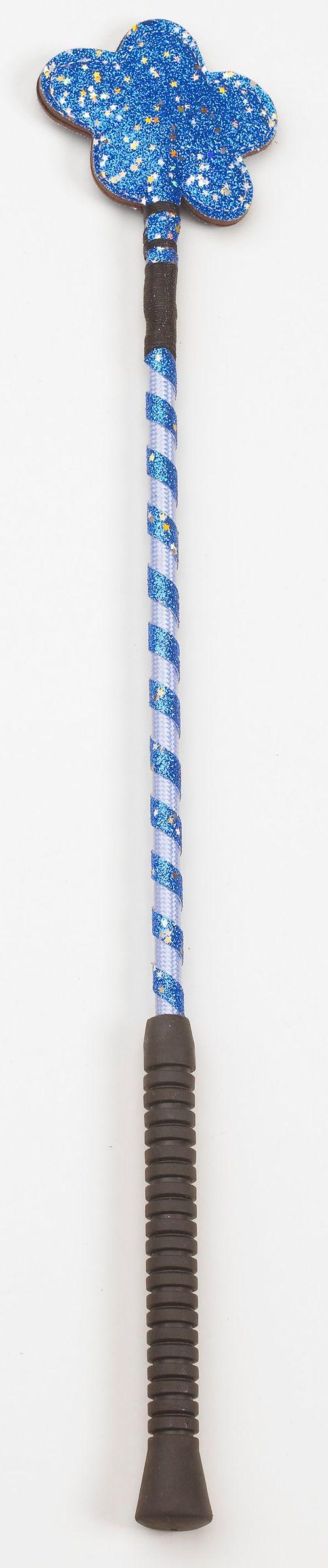 Equistar Glitter Flower Crop - Blue