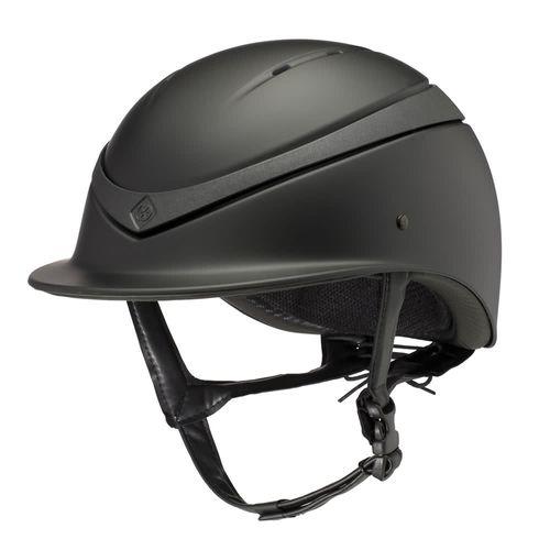 Charles Owen Luna Helmet - Black Matte/Black Matte