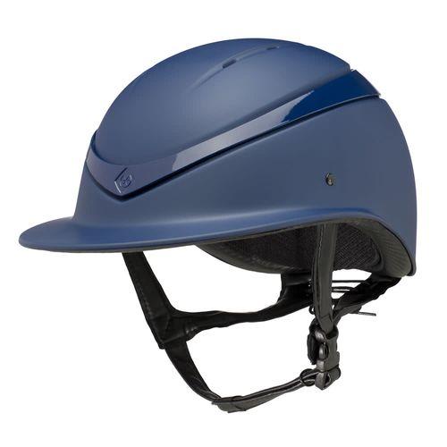 Charles Owen Luna Wide Peak Helmet - Navy Matte/Navy Gloss