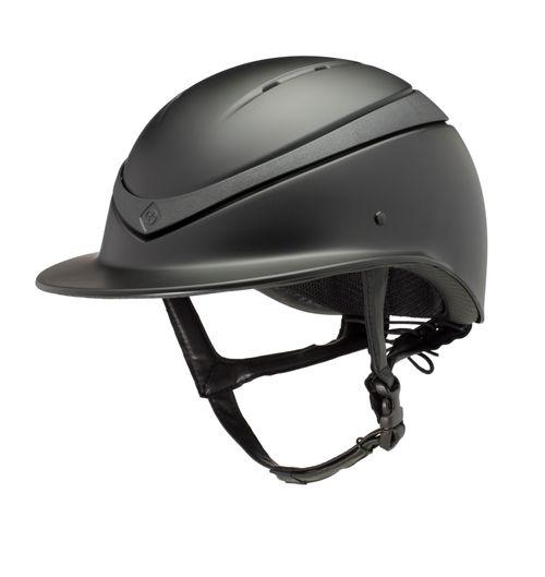 Charles Owen Luna Wide Peak Helmet - Black Matte/Black Matte
