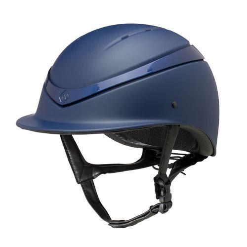 Charles Owen Luna Helmet - Navy Matte/Navy Gloss