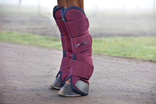 Rambo Travel Boots - Burgundy/Burgundy/Teal/Navy