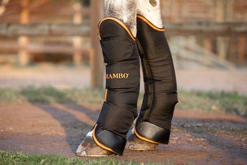 Rambo Travel Boots - Black/Orange/Tan/Brown