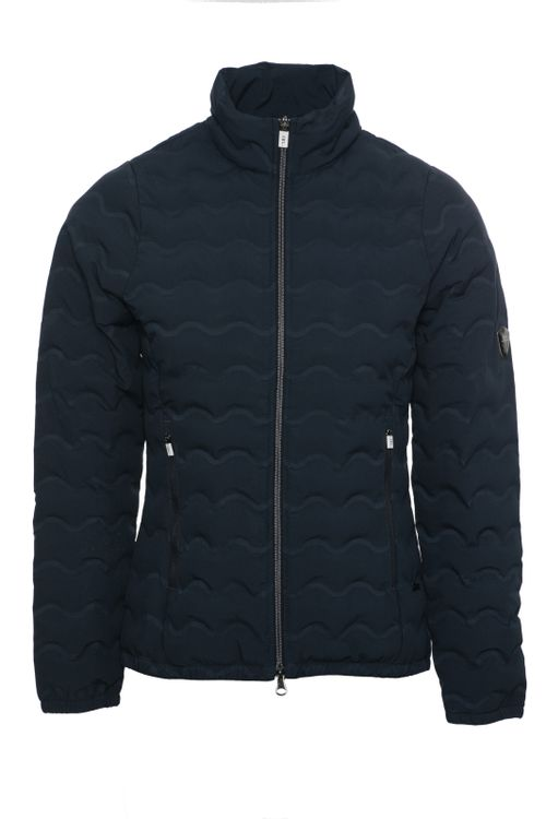 Alessandro Albanese Women's Cortina Padded Seamless Jacket - Navy