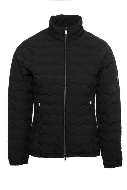 Alessandro Albanese Women's Cortina Padded Seamless Jacket - Black