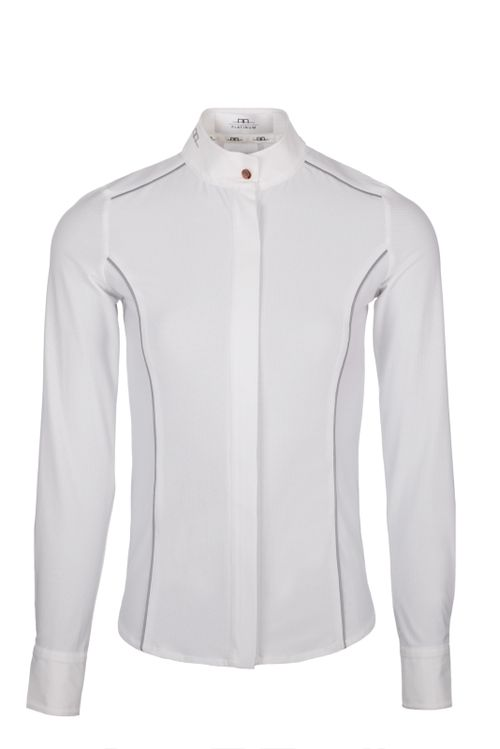 Alessandro Albanese Women's Lea Tech Competition Mesh Shirt - White (((15665))) <<<en-US>>>