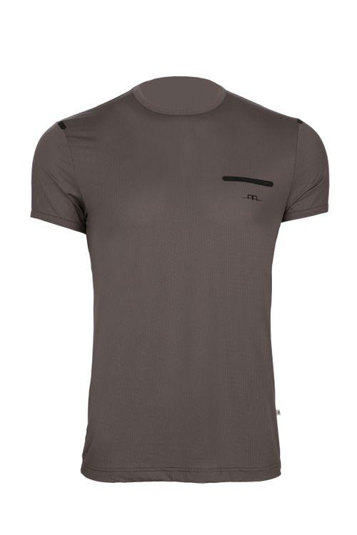Alessandro Albanese Men's Tech Tee Shirt - Dark Grey