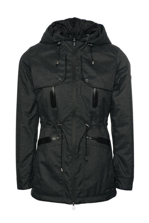 Alessandro Albanese Women's Padova Technical Waterproof Jacket - Black