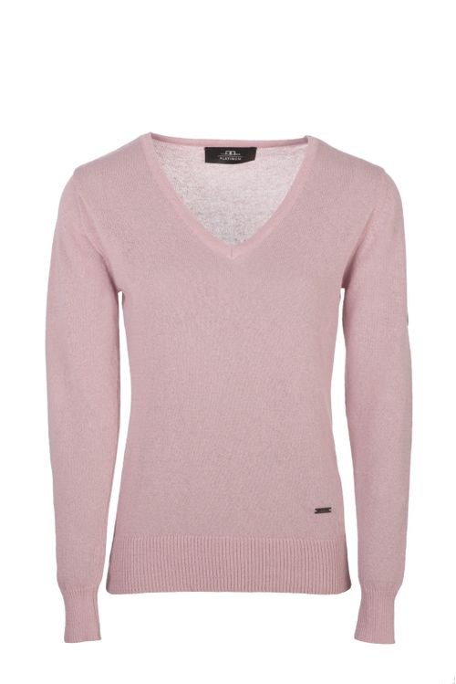Alessandro Albanese Women's Linen Sweater - Dusk Pink
