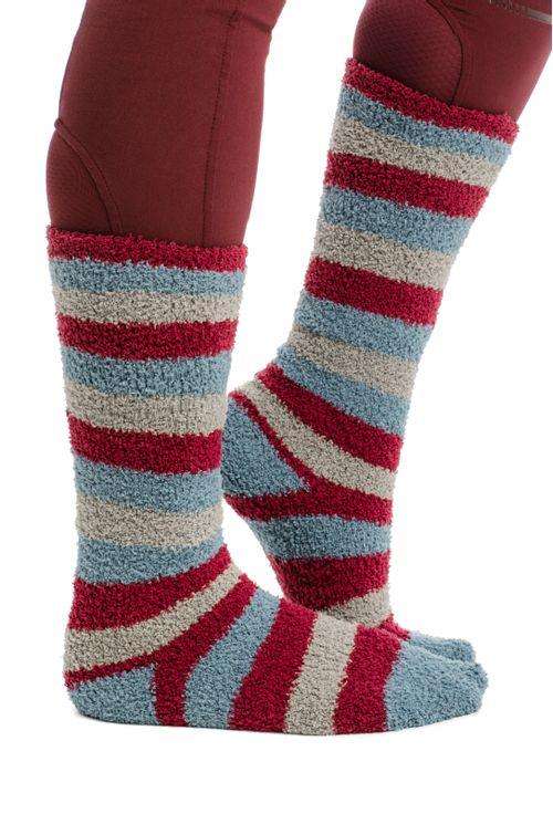 Horseware Kids' Softie Socks - Winter Oceans Stripe