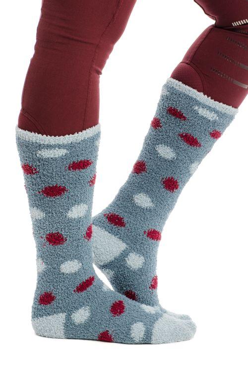 Horseware Kids' Softie Socks - Winter Ocean Spots
