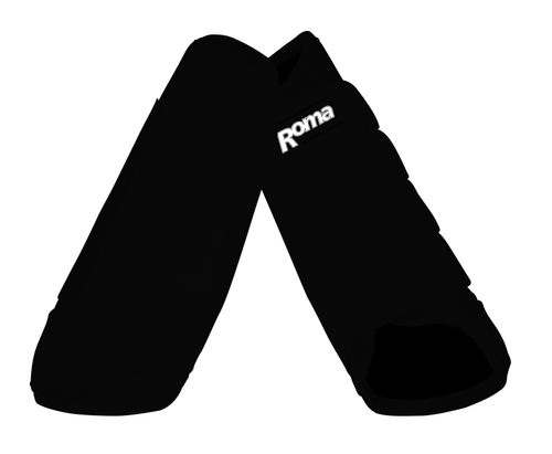 Roma Cross Country Front Boots - Black