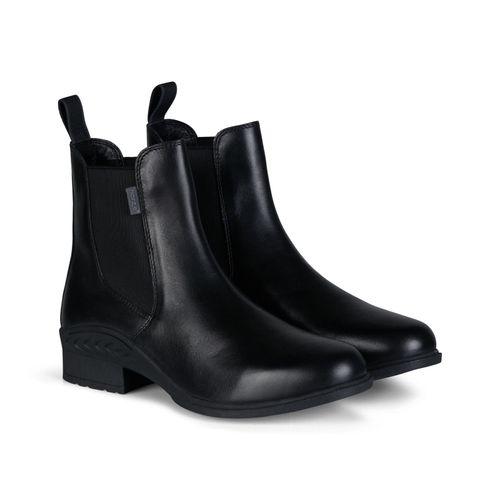 Horze Women's Leather Paddock Boots - Black