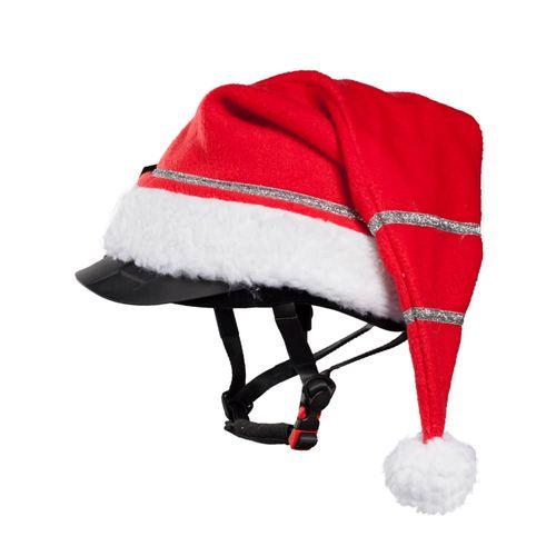 Horze Santa Cap for Helmet - Red