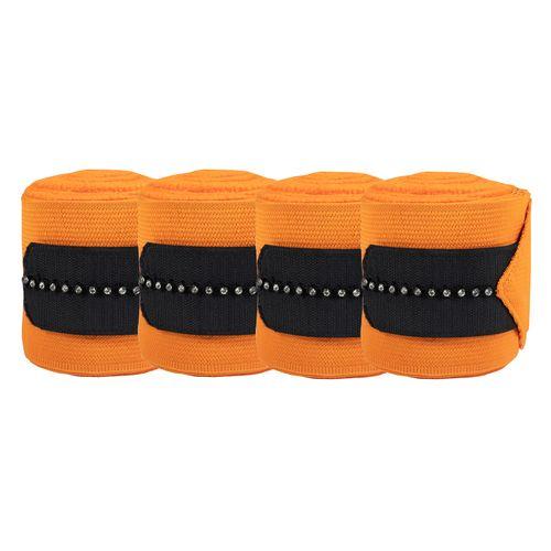 Horze Caesar Combi Bandages - Orange Pepper