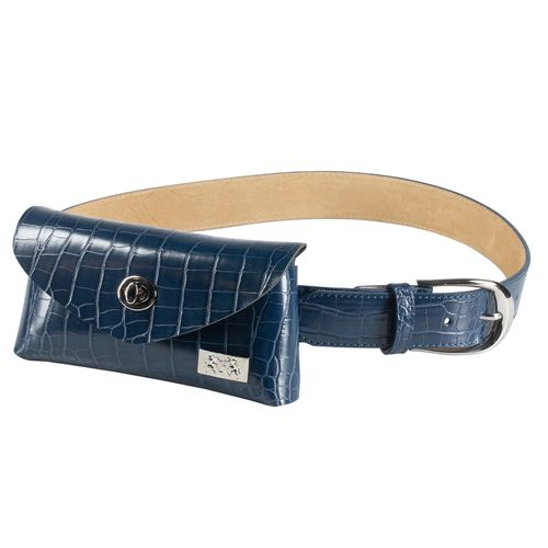 B Vertigo Women's Belt w/Removable Bag - Dark Navy